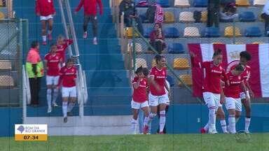Inter estreia com goleada no Gauchão feminino de futebol - Assista ao vídeo.