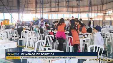 Cinco escolas de Curitiba participam da fase regional da Olimpíada de Matemática - As provas foram realizadas em Curitiba.