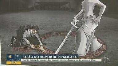 Começa 46ª edição da mostra 'Salão Internacional do Humor' de Piracicaba - Evento é considerado um dos maiores do mundo na área do humor gráfico