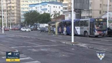 Empresa vence licitação para operar o transporte público de São Vicente - Lotações serão substituídas por ônibus equipados com ar-condicionado e wi-fi.