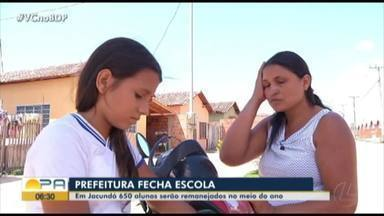 Escola fecha em Jacundá e 650 alunos serão remanejados no meio do ano - MP investiga o caso.