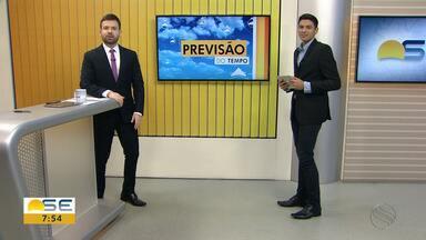 Felipe de Pádua fala sobre a previsão do tempo para este início de semana - Felipe de Pádua fala sobre a previsão do tempo para este início de semana em Sergipe.