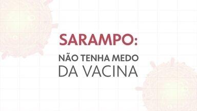 Sarampo: vacina é segura e eficaz - Uma pessoa com sarampo pode transmitir o vírus para até 18 pessoas.