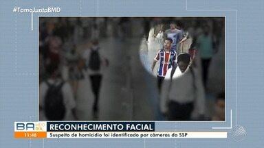 Polícia prende suspeito de homicídio através de sistema de reconhecimento facial - Makkenas Almeida foi identificado pelas de câmeras de segurança em uma estação de metrô.