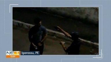 Homem reage a assalto e morre a tiros em Igarassu - Um dos assaltantes atirou duas vezes contra a vítima, que estava com a companheira.