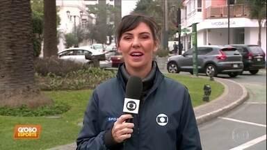 Glenda Koslowski traz as últimas notícias dos Jogos Pan-Americanos de Lima - Glenda Koslowski traz as últimas notícias dos Jogos Pan-Americanos de Lima