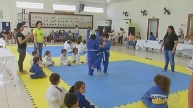 Festival de Judô com time mirim é realizado em Tatuí - Festival de Judô com time mirim é realizado em Tatuí