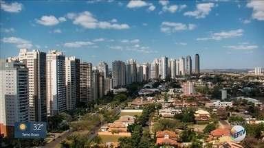 Confira a previsão do tempo desta segunda-feira (12) na região de Ribeirão Preto - Termômetros dispararam e muitas cidades tiveram o dia mais quente do inverno.