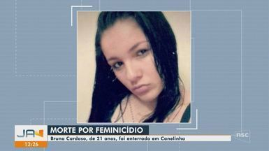 Mulher é morta com tiro no rosto na Grande Florianópolis; namorado é suspeito, diz polícia - Mulher é morta com tiro no rosto na Grande Florianópolis; namorado é suspeito, diz polícia