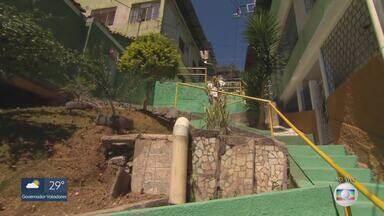 MG Móvel acompanha entrega de obra em Nova Lima - Moradores do bairro Cruzeiro aprovam obras realizadas na Avenida Nossa Senhora da Piedade.