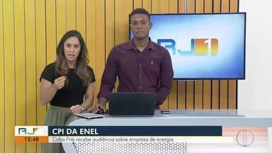 Câmara de Vereadores de Cabo Frio recebe audiência pública da Alerj sobre a Enel - Reunião será nesta segunda (12), às 15h.
