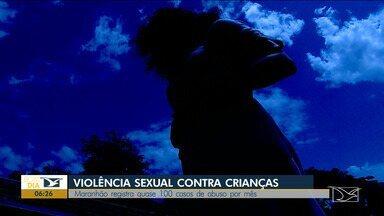 Maranhão registra quase 100 casos de abuso sexual contra crianças por mês - Ano de 2018 foram 1.047 estupros e tentativas de estupros de crianças e adolescentes com até 17 anos, segundo a Polícia Civil.