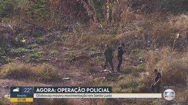Cem policiais civis participam de operação de combate ao tráfico de drogas em Santa Luzia - Ninica, conhecido como 'príncipe do tráfico' na cidade, foi preso na manhã desta quarta-feira (14).