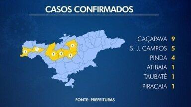 Região tem mais um caso de sarampo em Pinda - A cidade que mais tem casos é Caçapava, com nove.