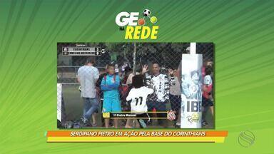 Pietro marca golaço de falta na base do Corinthians - Sergipano mostra habilidade na bola parada e se destaca por precisão na perna esquerda.