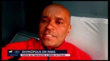 Ciclista de Divinópolis representa a cidade em tradicional competição na França - Daniel Nelore embarca para Paris nesta quarta-feira