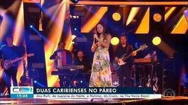 Duas caririenses estão na disputa do The Voice Brasil - Confira mais notícias em g1.globo.com/ce