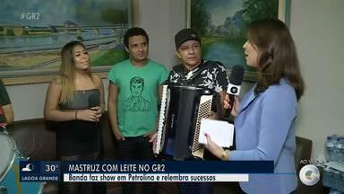 Banda Mastruz com Leite relembra vários sucessos da carreira - Show em Petrolina promete fazer a festa dos forrozeiros.