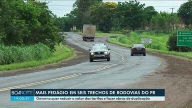 Novos trechos de rodovias estaduais e federais devem ser pedagiados no Paraná - A PR-323 faz parte do estudo do governo que está em fase inicial.