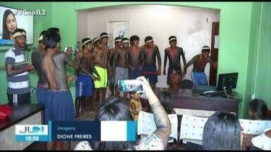 Indígenas protestam pela demora na contratação de professores em Marabá - Um grupo ocupou a sede da 4ª Unidade Regional do município.