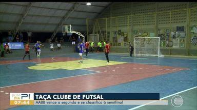AABB se classifica para semifinal da Taça Clube de Futsal - AABB se classifica para semifinal da Taça Clube de Futsal