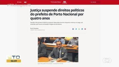 Justiça suspende direitos políticos do prefeito de Porto Nacional por quatro anos - Justiça suspende direitos políticos do prefeito de Porto Nacional por quatro anos
