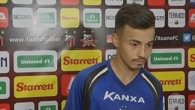 Gui Mendes renova contrato com Ituano - Gui Mendes renova contrato com Ituano.