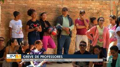 Professores da rede municipal iniciam greve em Parnarama - Cerca de oito mil e quinhentos alunos estão sem aula e merenda escolar.