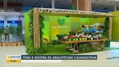 Em Manaus, feira Casa Amazônia mostra novidades da arquitetura - Evento ocorre no Centro de Convenções do Amazonas Vasco Vasques.