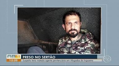 Suspeito de matar agente penitenciário em Afogados da Ingazeira é preso em Petrolina - Segundo a polícia, Roberto Oliveira de Azevedo Maia Neto foi preso, por volta das 13h30, no bairro São Jorge em Petrolina.
