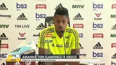 Flamengo e Vasco se preparam para clássico - Balotelli não vem para o rubro-negro. Botafogo enfrenta o Corinthians. Fluminense luta para se manter fora da zona de rebaixamento.