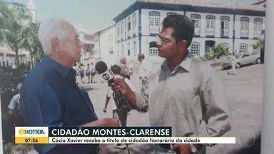 Cácio Xavier recebe título de cidadão honorário de Montes Claros - Jornalista mora na cidade desde 1980, com 30 anos de trajetória na comunicação social.