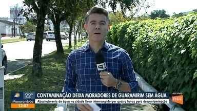 Bairros de Joinville podem ficar sem água no domingo (18) - Bairros de Joinville podem ficar sem água no domingo (18)