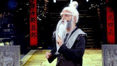 'O Maior Mestre das Artes Marciais do Mundo' se apresenta no Gonga La Gonga - Ele não agrada os jurados e é gongado