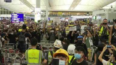 O poder chinês frente a Hong Kong