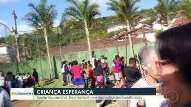 Centro Educacional Terra Santa é uma das instituições beneficiadas - Projeto ajudado pelo Criança Esperança fica em Petrópolis.