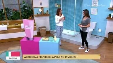 Aprenda a proteger a pele no inverno - A dra. Márcia Purceli fala sobre a importância de manter a pele muito bem hidratada na estação mais seca do ano