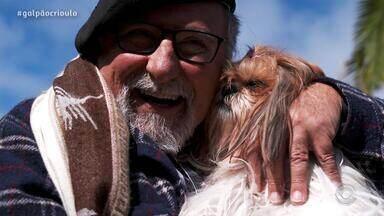 Gaúcho da Fronteira apresenta a shih-tzu Amora no quadro Cão Amigo - Assista ao vídeo.