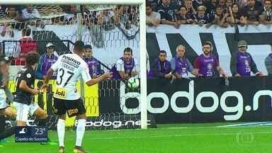 A preparação dos times paulistas para a rodada e os gols da vitória do Corinthians - Em Itaquera, Timão bateu o Botafogo por 2 a 0.