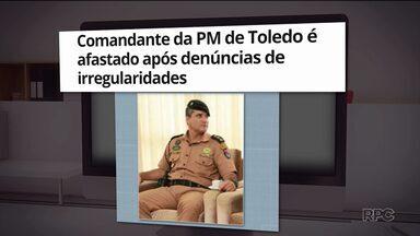 Tenente-Coronel Gustavo Alfonso Rocha vai ser investigado pela corregedoria da PM - Ele é suspeito de mau uso de diárias, dirigir com carteira de habilitação cassada e também de levar mulheres ao batalhão da PM.