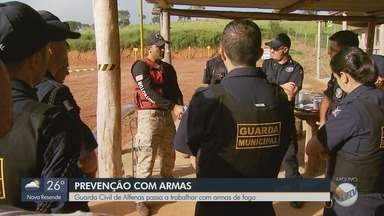 Guarda Civil de Alfenas (MG) passa a trabalhar com armas de fogo - Guarda Civil de Alfenas (MG) passa a trabalhar com armas de fogo