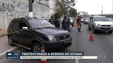 São Paulo tem terça-feira (20) violenta com tiroteios em três pontos - Um desses casos foi na Vila Guilherme, na Zona Norte. Duas pessoas foram baleadas e uma dela morreu.