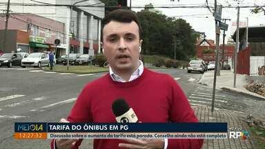 Com conselho incompleto, discussão sobre tarifa do ônibus segue parada em Ponta Grossa - Situação deve mudar nos próximos dias, já que três entidades apresentaram representantes na última semana