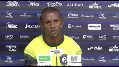 Mimica sonha com nova oportunidade no Remo - Zagueiro vive expectativa de ser titular contra o Sobradinho, pela Copa Verde, partida em que o técnico do Leão deve poupar alguns titulares.