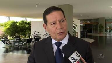 Hamilton Mourão fala sobre negociações do plano de recuperação fiscal no RS - Carolina Bahia fala sobre o assunto.