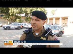 Pesquisa aponta redução de crimes violentos em GV - Houve uma redução de 38% nos crimes violentos em Valadares.