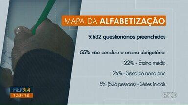 Pesquisa da prefeitura aponta que 55% dos entrevistados não concluiu o ensino obrigatório - A pesquisa realizada pela prefeitura de Londrina preencheu 9.632 questionários de parentes de crianças que estudam em escolas municipais.