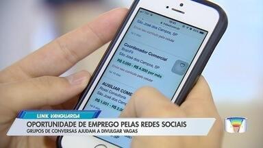 Redes sociais são boa ferramenta na hora de procurar uma vaga de emprego - Veja como usar a internet como aliada.