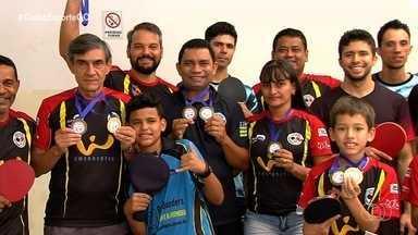 Equipe goiana de tênis de mesa fatura título internacional - Delegação foi campeã em todas as categorias no torneio disputado no Mato Grosso do Sul.
