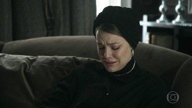 Dalila lamenta a morte de Paul - Ela lembra como tudo aconteceu e se arrepende por ter tirado a vida do pai de seu filho
